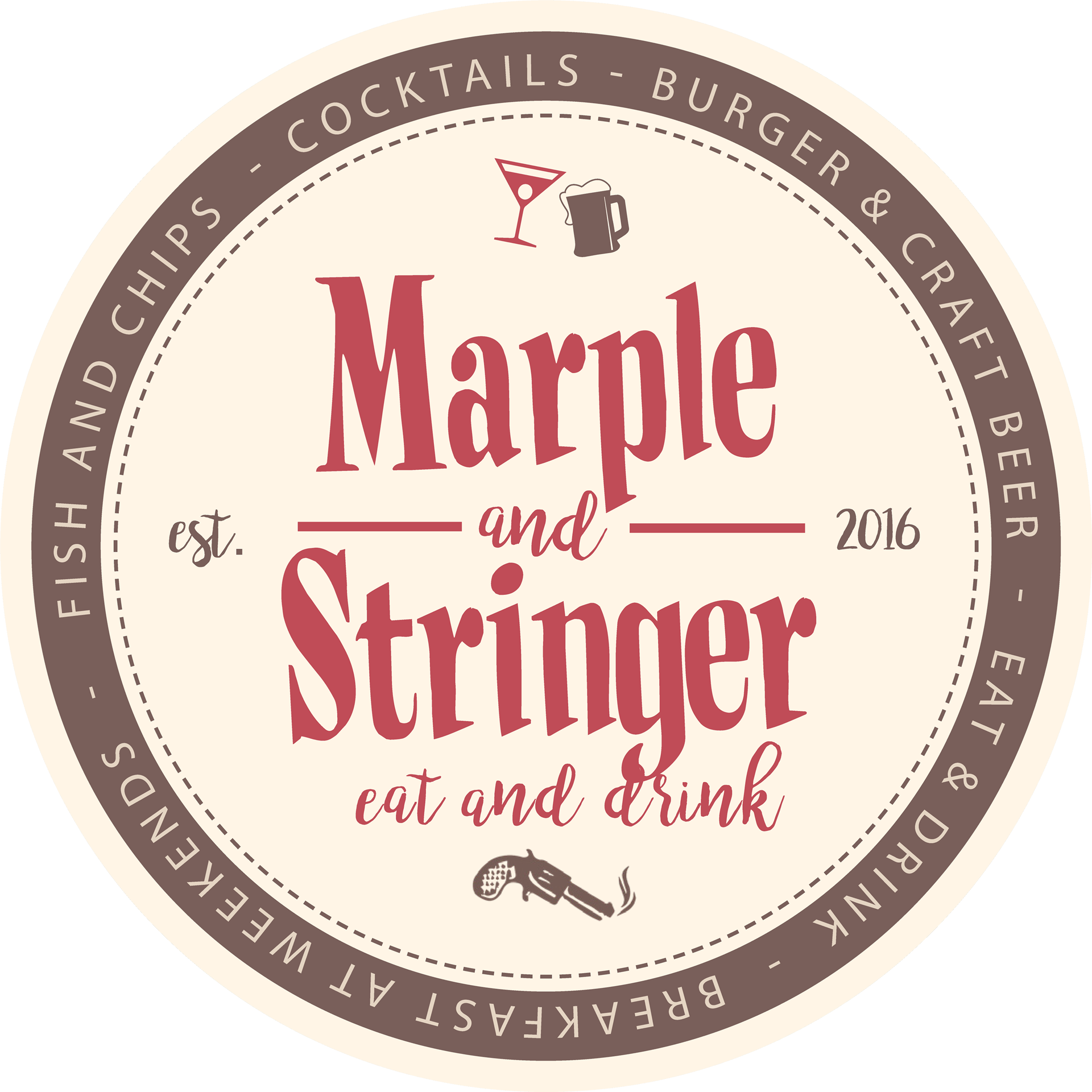 Logo Marple and Stringer - Burgerrestaurant & Bar