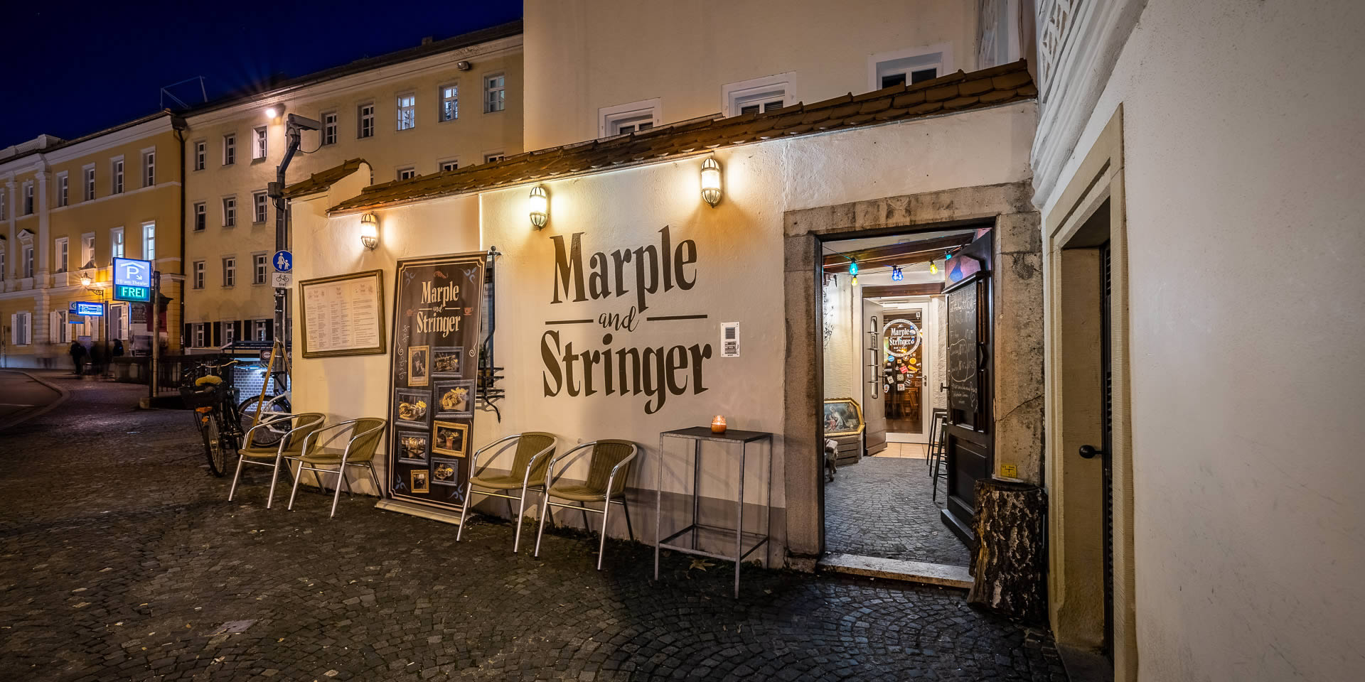 Marple and Stringer - Burgerrestaurant & Bar